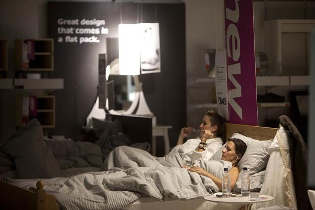Ikea customers chill out at Ikea Retreat event