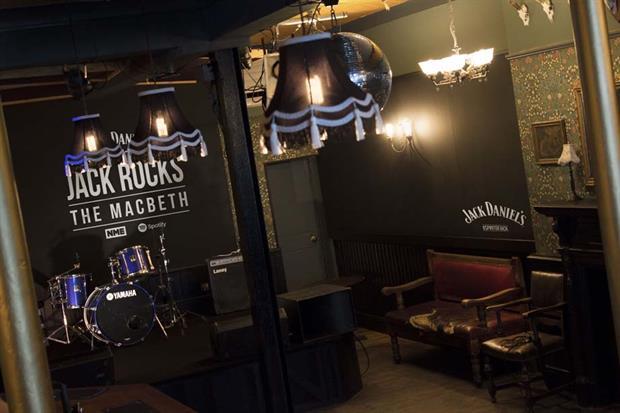 Jack Daniel's The Macbeth takeover