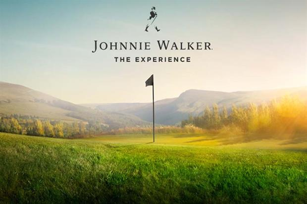 Golf and whisky form centre at Johnnie Walker's Ryder Cup experience
