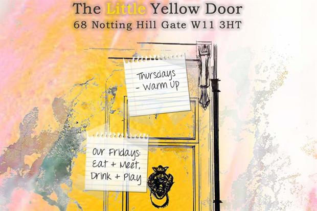 The Little Yellow Door launches next week