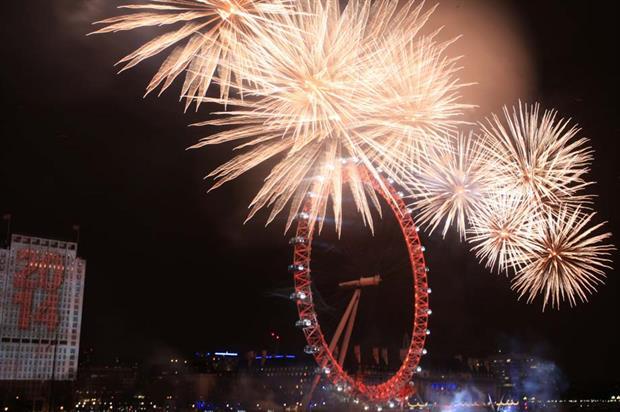 London's NYE fireworks are produced by agency Jack Morton