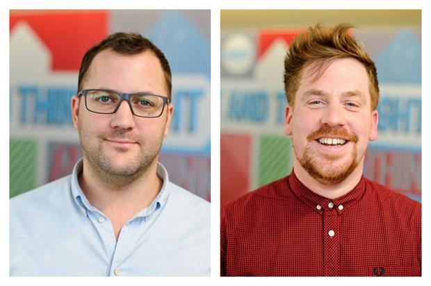 Slice has seen three successive years of growth with Tom Rutter (L) and Alec Braun (R) at the helm