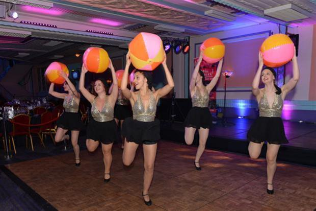 Swing Patrol at the 2014 Event Awards