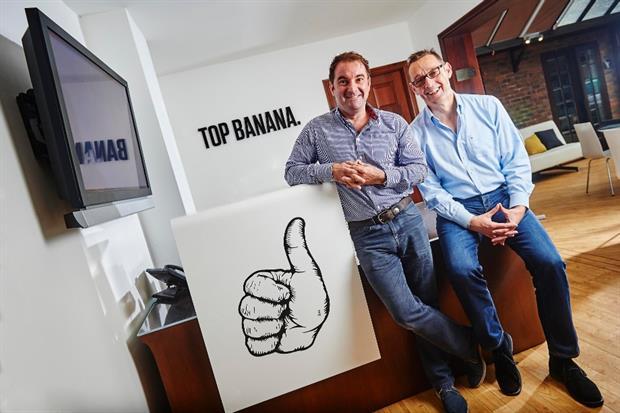 Nick Terry and Richard Bridge from Top Banana