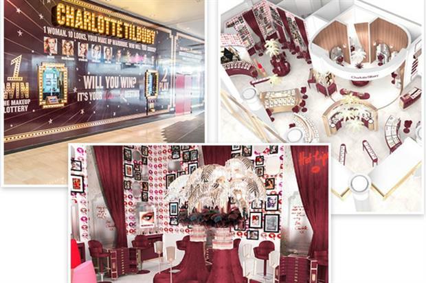 Charlotte Tilbury: beauty boudoir