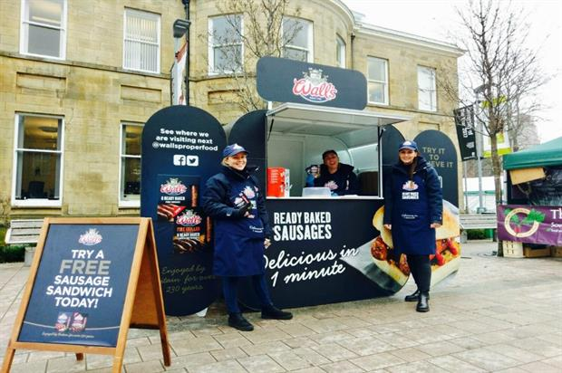 Wall's: touring the UK with ready baked sausages