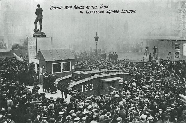 Wargaming: tank event in Trafalgar Square