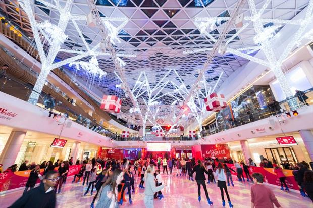 Westfield's Christmas bus will run from 22 November for two days