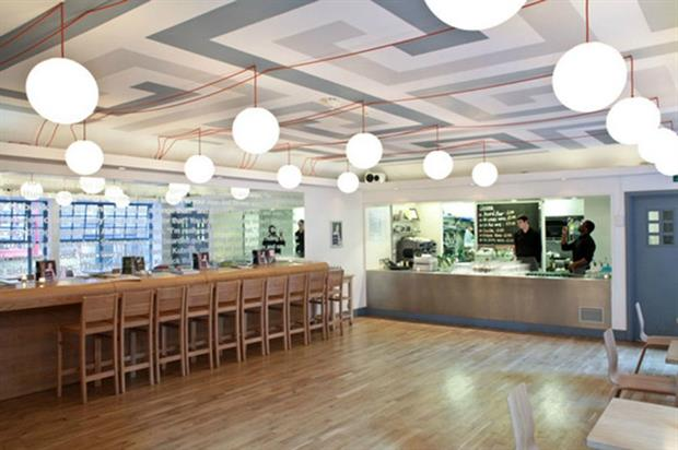 Whitechapel Gallery: cafe-themed event space