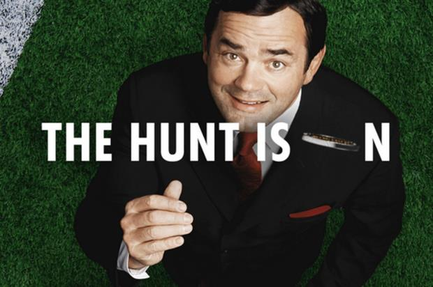 Former England captain Will Carling is the face of the coin hunt (rugby.heineken.com)
