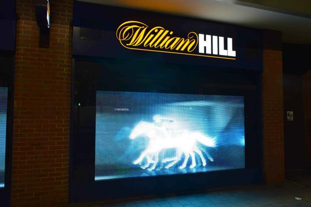 William Hill: interactive window displays