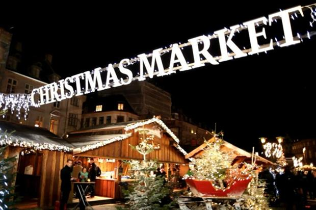 Winter on the Green: branded bars and Christmas market