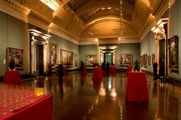 The National Gallery's Wohl room: hosting pop-up screening