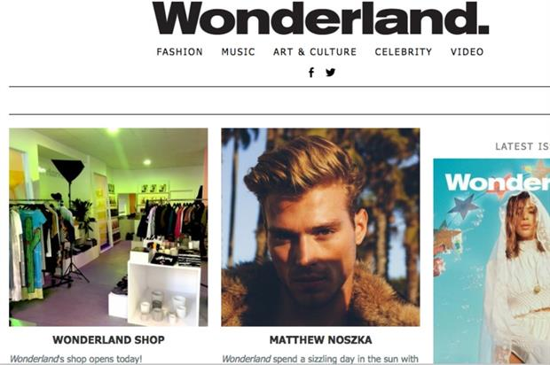 Wonderland Magazine launches fashion pop-up