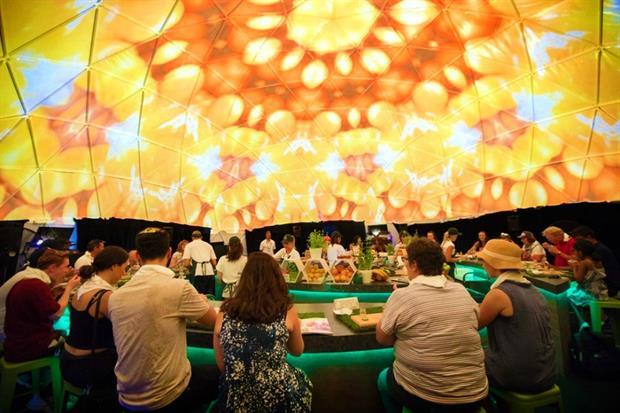 Woolworths create multi-sensory food experience