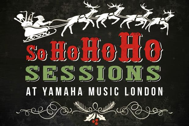 Yamaha: in-store music sessions for Christmas treat