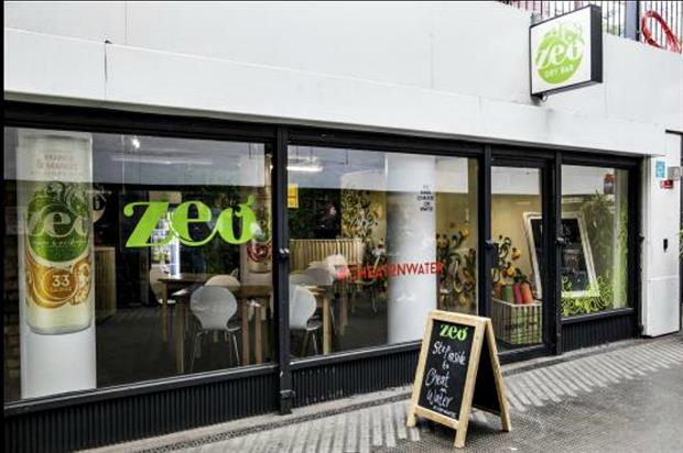 Zeo launches Zeo Dry Bar in east London