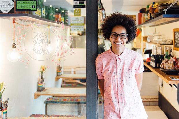 Zoe Adjonyoh's café is one of 30 local businesses taking part