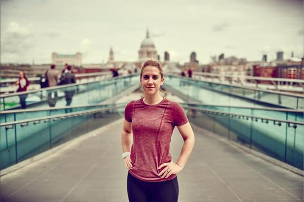 London's Sophie Christabel has been named as an Energy Running influencer