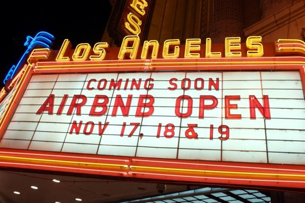 The third Airbnb Open will take place in LA in 2016