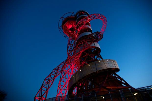 The ArcelorMittal Orbit can be hired out for events