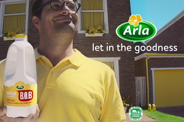 The tour will support the 'yellow top' Best of Both milk (YouTube/Arla UK)