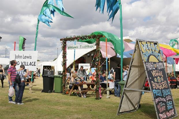 John Lewis is working with PrettyGreen to activate its sponsorship of this year's event