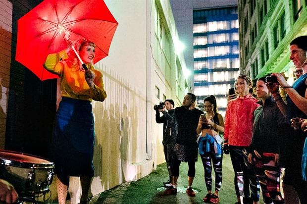 Asics combined an immersive theatre experience with a 5k run in L.A.