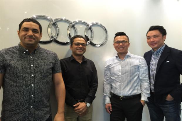 The Geometry Global team: Audi Malaysia account win