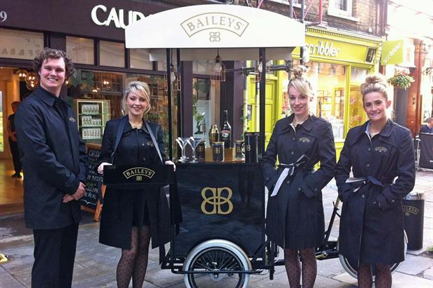 TRO is to deliver Baileys Christmas pop-up roadshow