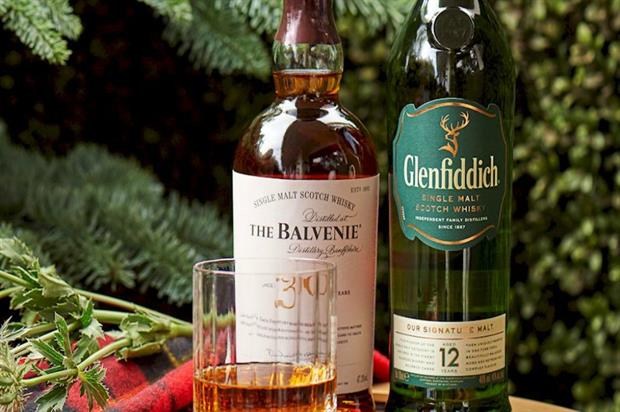 The Balvenie and Glenfiddich: Scottish terrace experience