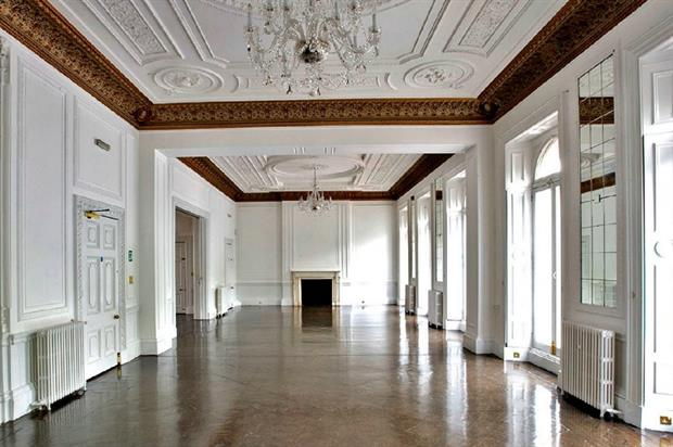 The space is located on Grosvenor Place