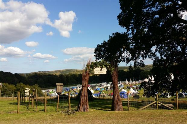 The National Trust urges chidren to enjoy nature at Camp Bestival and BBC Countryfile Live