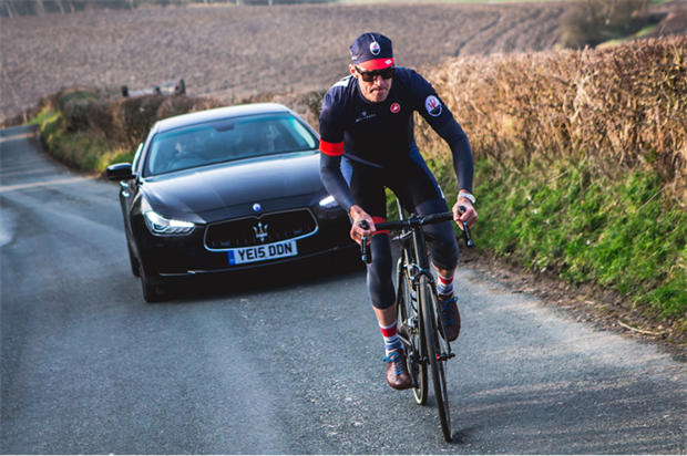 Maserati sponsors The Ride