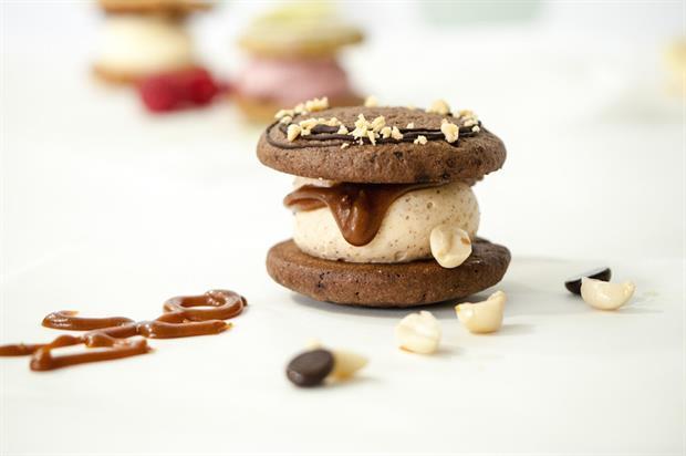 Cutter & Squidge is known for its 'biskie' sandwiched dessert