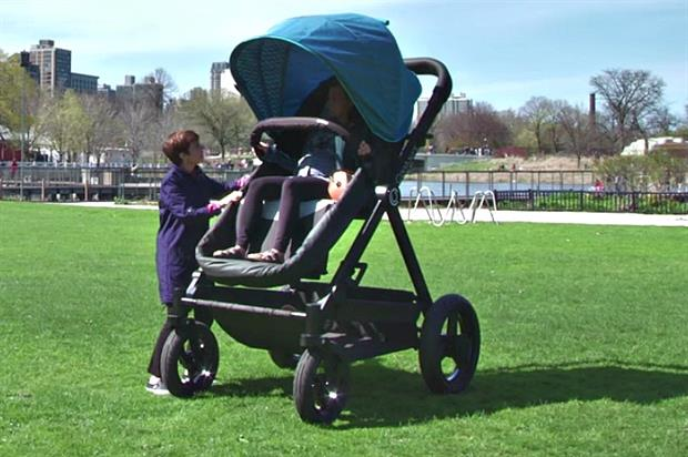 Cannes Lions 2016 winner: Contours Baby's adult-sized buggy