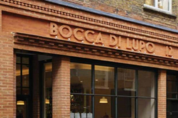 Bocca di Lupo: Dolomite-themed dining experience
