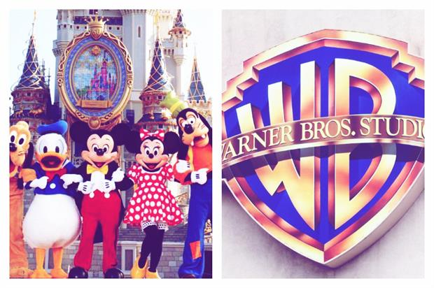 Brand Slam: Warner Bros vs Disney