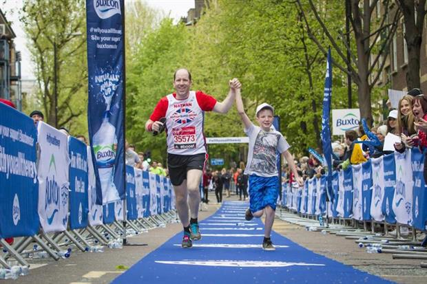 Buxton's 'Lane of Heroes' will see participants run a portion of the race with their loved ones