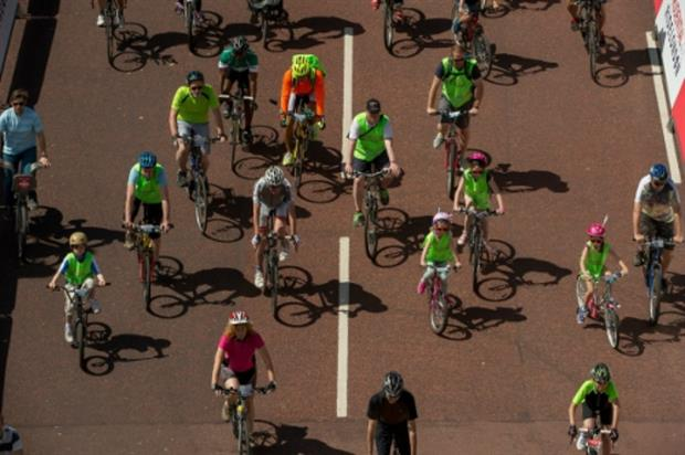 Buxton Water activates at Prudential RideLondon with a 'miniature town'