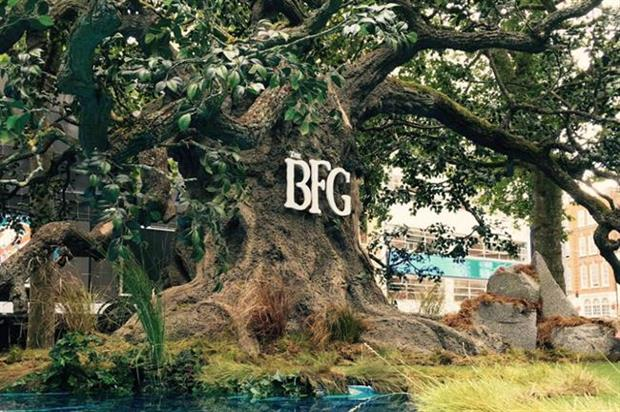 Heart Productions created The BFG's world in Leicester Square, London