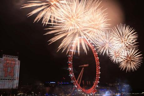 The New Year's Eve fireworks will no longer be free to watch from 2014