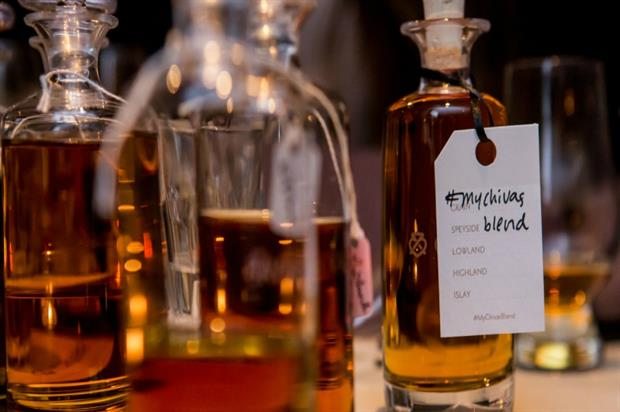 Chivas: launching The Blend bar and whisky blending experience