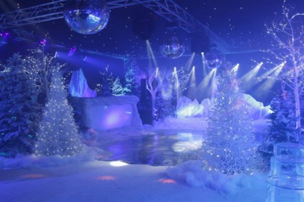 The London Christmas Party Show will include an immersive forest lounge