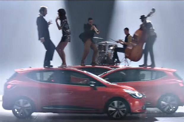 The campaign aims to showcase Renault's 'sense of joie de vivre' (YouTube/Renault UK)