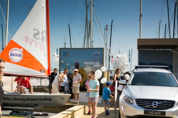 Volvo will run a series of experiential activities at Aberdeen Asset Management Cowes Week 2016