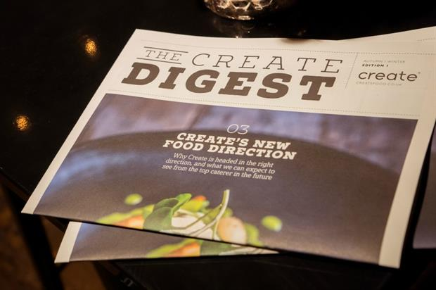 Create has also launched a newspaper-style publication, The Create Digest