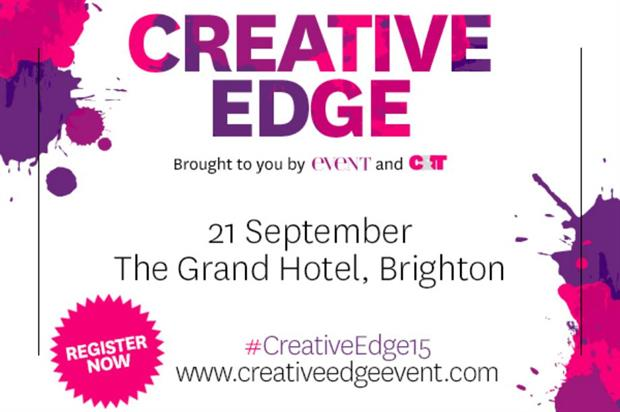 The first Creative Edge will take place in Brighton