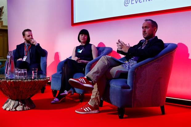 Phillip Maggs, Catherine Botibol and Gareth Dimelow spoke about The Standout Event Experience