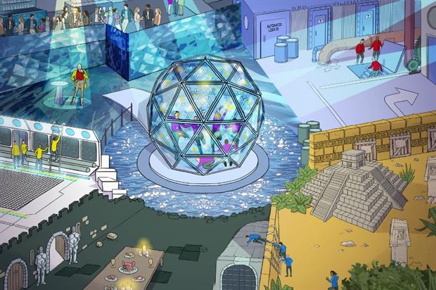 The Crystal Maze experience is expected to run for at least three years